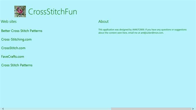 Get CrossStitchFun - Microsoft Store