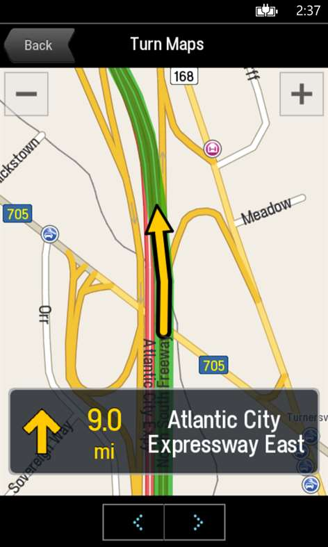 CoPilot™ GPS Screenshots 1