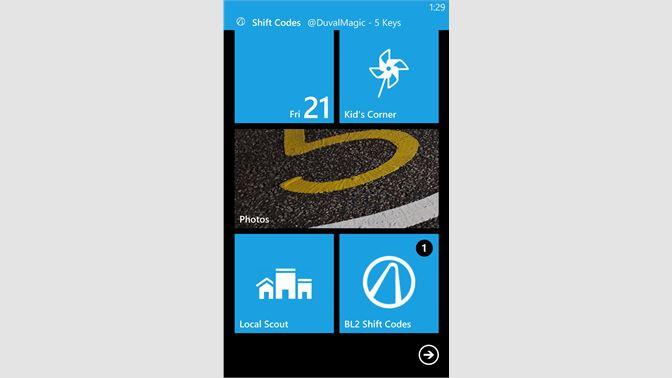 Get BL2 Shift Codes - Microsoft Store