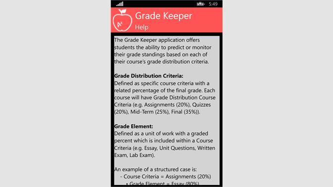 Buy Student Grade Tracker - Microsoft Store