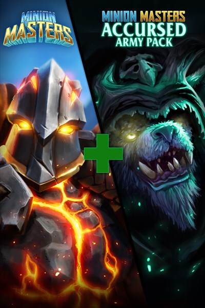 100% off Bundle: Minion Masters + Accursed Army Pack