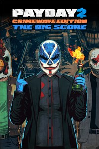 Carátula del juego PAYDAY 2 - CRIMEWAVE EDITION - THE BIG SCORE Game Bundle