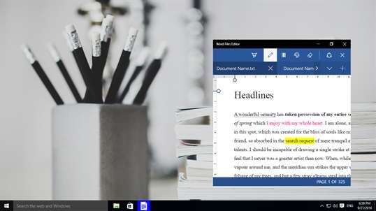 Word Files Editor screenshot 8