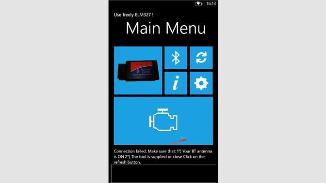 Get Use freely ELM327 ! - Microsoft Store