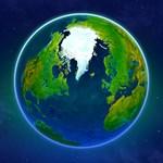 Earth 3D Logo