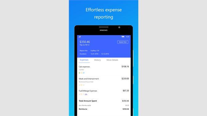get zoho expense reports microsoft store