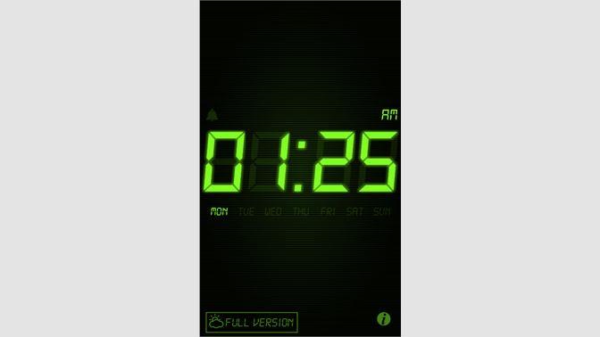 Get Night Stand Clock Lite - Microsoft Store