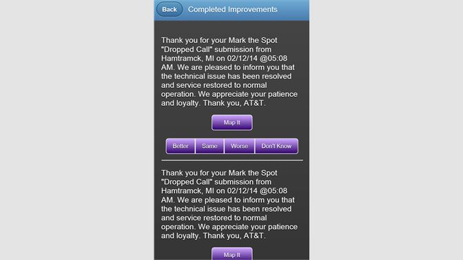 Get AT&T Mark the Spot - Microsoft Store