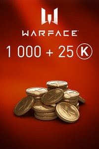 Warface - 1000 Kredits