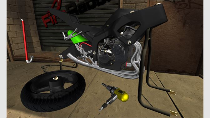 Get Fix My Motorcycle: 3D Mechanic FREE - Microsoft Store
