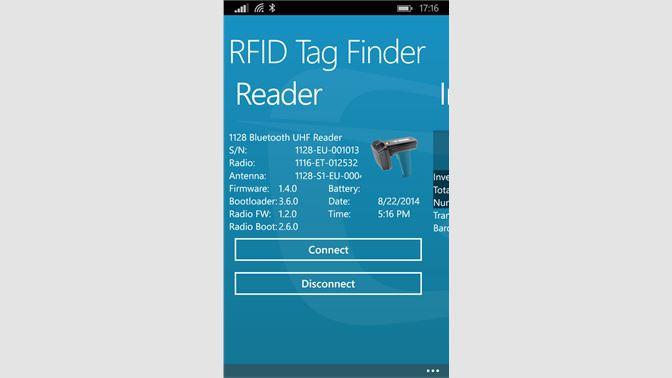 Get RFID Tag Finder - Microsoft Store