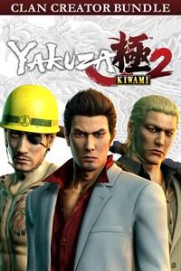 Carátula para el juego Yakuza Kiwami 2 Clan Creator Bundle de Xbox 360