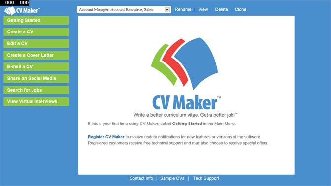 Kjøp Cv Maker Microsoft Store Nb No