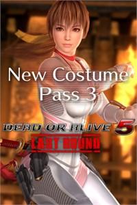 DEAD OR ALIVE 5 Last Round: Novo Pacote de fatos 3 + Personagem