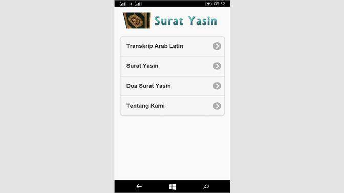 Get Bacaan Yasin Microsoft Store