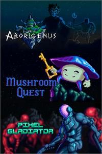 Carátula para el juego Flying Islands Games Bundle de Xbox 360