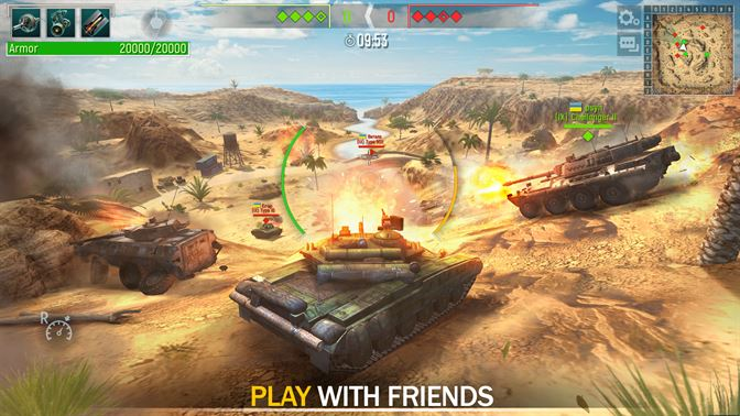 3d tank games online free play
