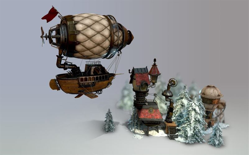 Remix 3D Winterscapes Screenshot