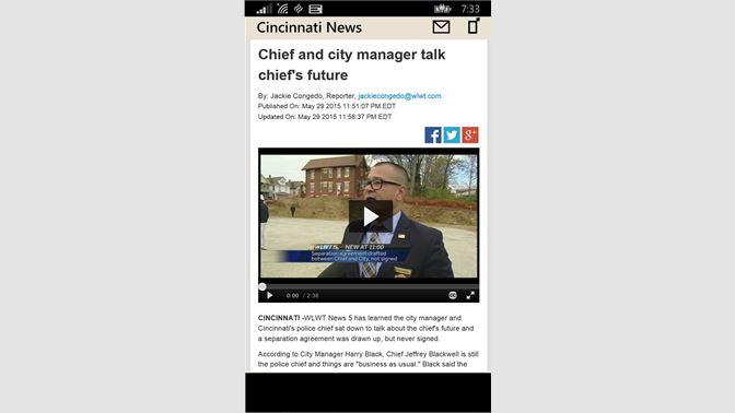 Get Cincinnati News - Microsoft Store