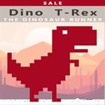 Dino T Rex ™️ - Dinosaur Runner Game ™️ Logo