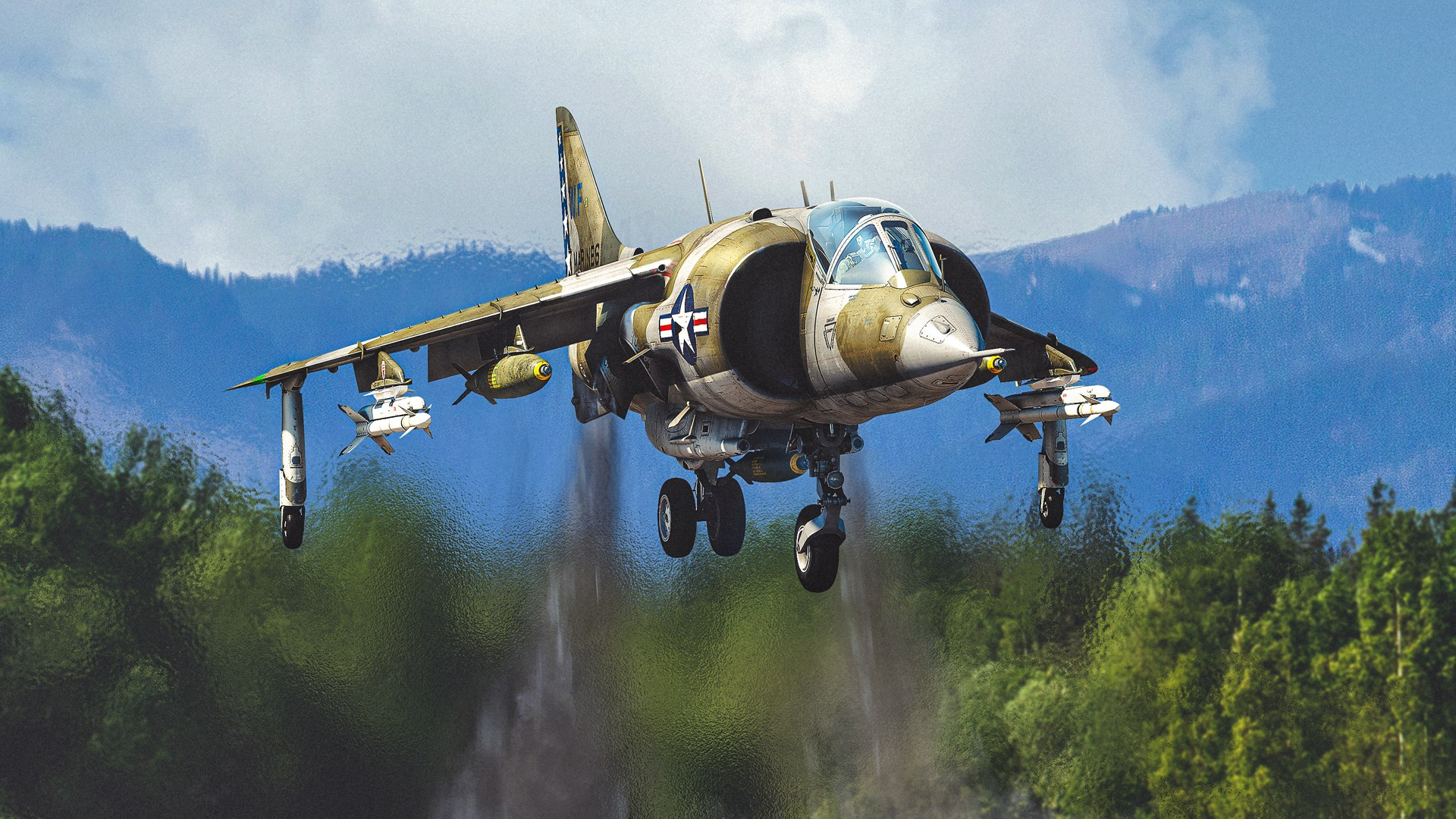 War Thunder - AV-8A Harrier Pack