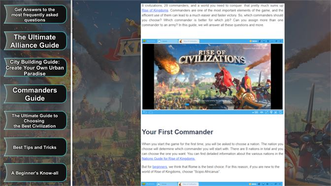 Buy Rise Of Kingdoms Guide - Microsoft Store en-KW
