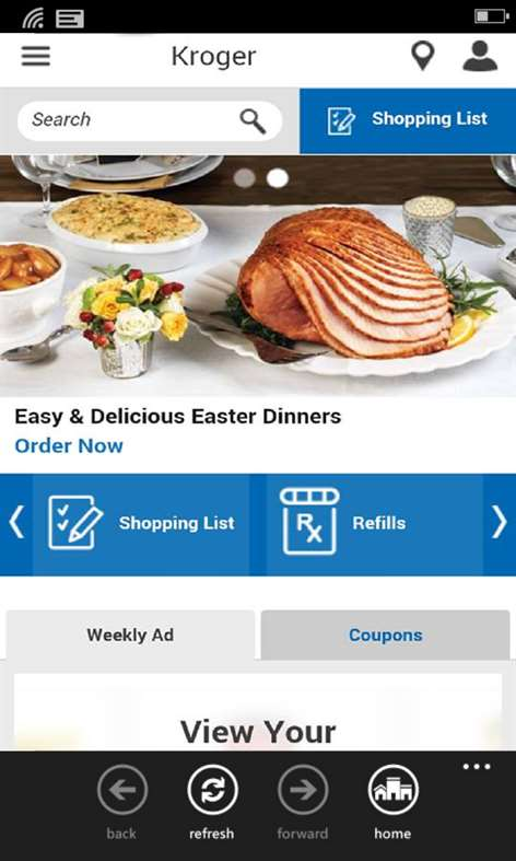 Kroger App Screenshots 1