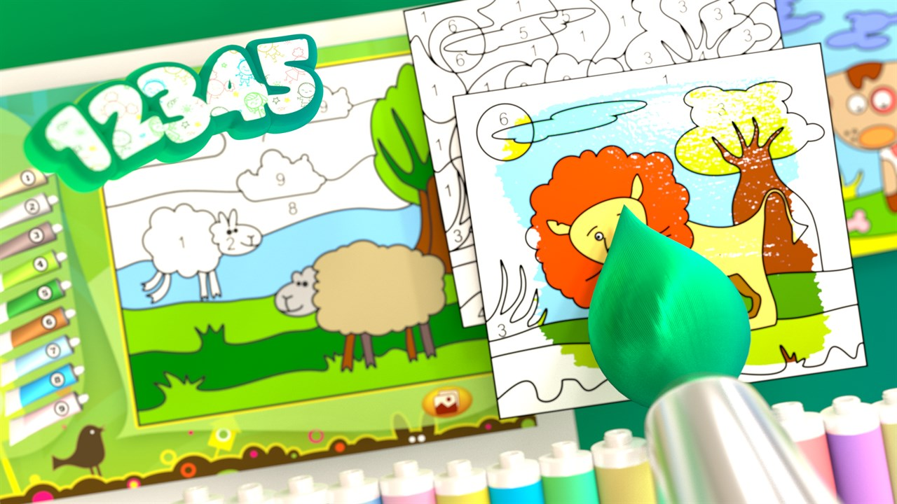 animals color by numbers を購入 microsoft store ja jp