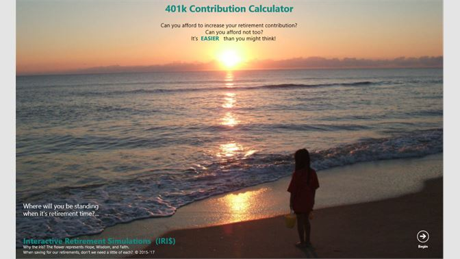 get 401k contribution calculator microsoft store