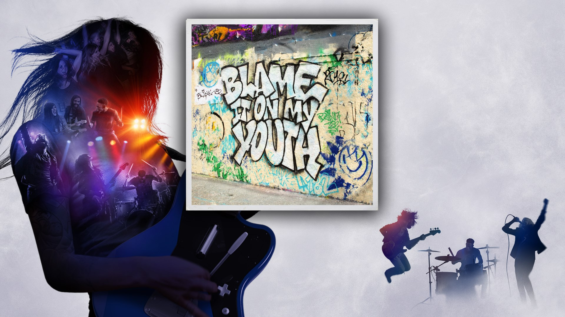 """""""Blame It On My Youth"""" - Blink-182"""