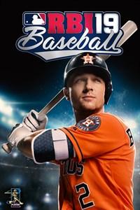 Carátula para el juego R.B.I. Baseball 19 de Xbox 360