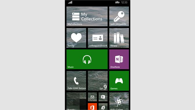 Get MyCollections - Microsoft Store