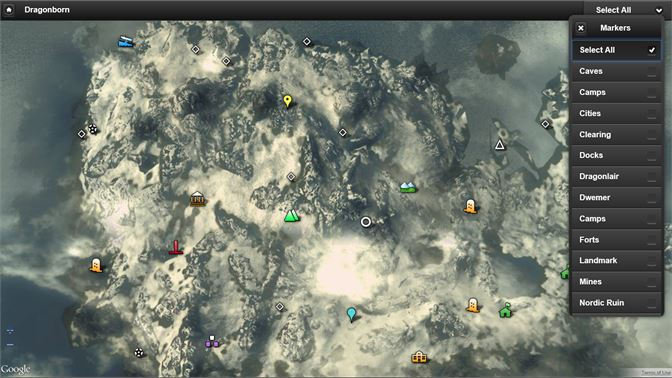 Get Skyrim Map - Microsoft Store