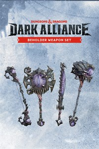 The Beholder Weapon Set