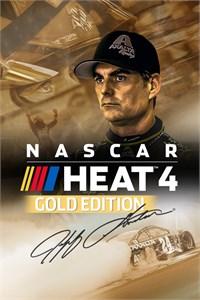 Carátula para el juego NASCAR Heat 4 - Gold Edition de Xbox 360