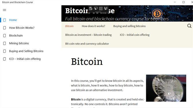 Baixar bitcoin blockchain and cryptocurrency course microsoft captura de tela ccuart Choice Image
