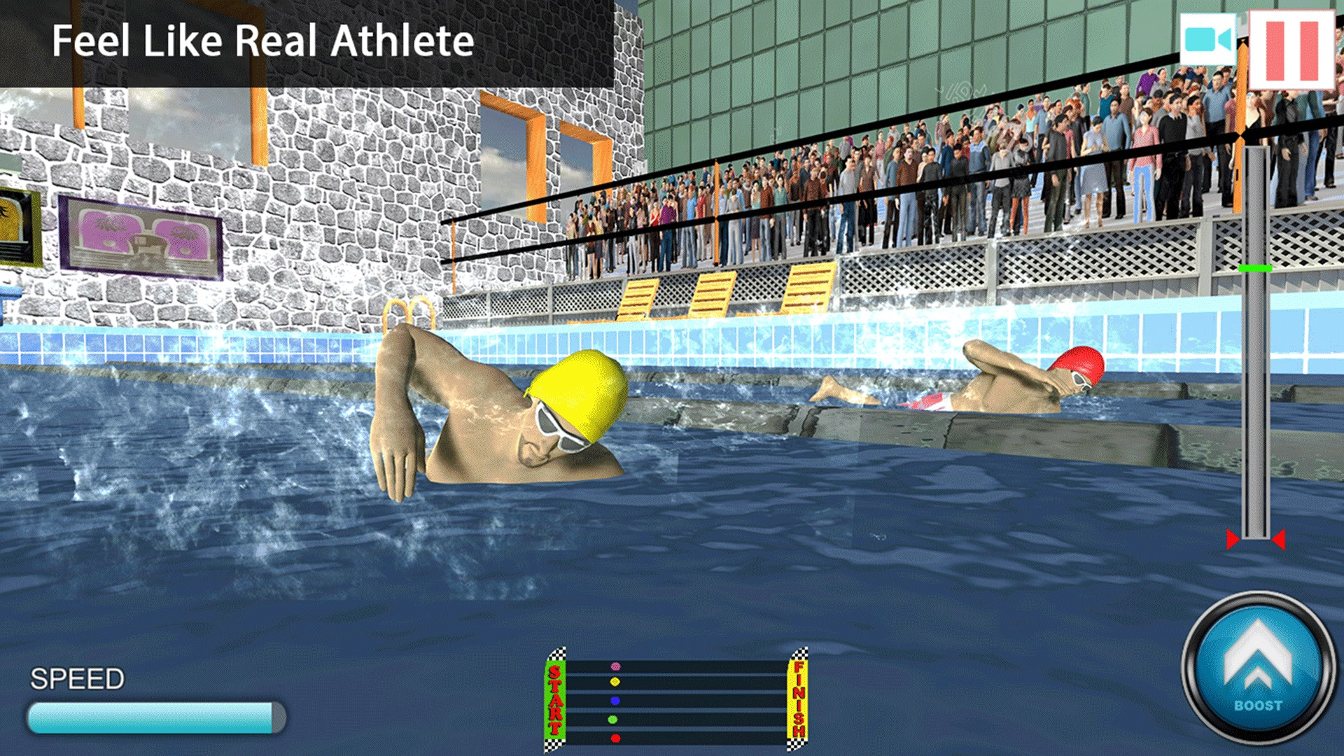 Get Freestyle Swimming Race 3D - Microsoft Store