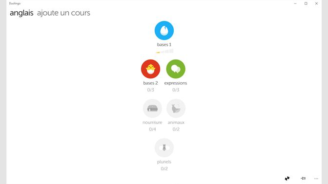 recevoir apprends l'anglais et l'espagnol avec duolingo - microsoft