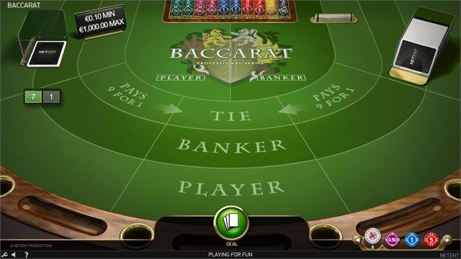 Get Baccarat Pro Game Microsoft Store En Id