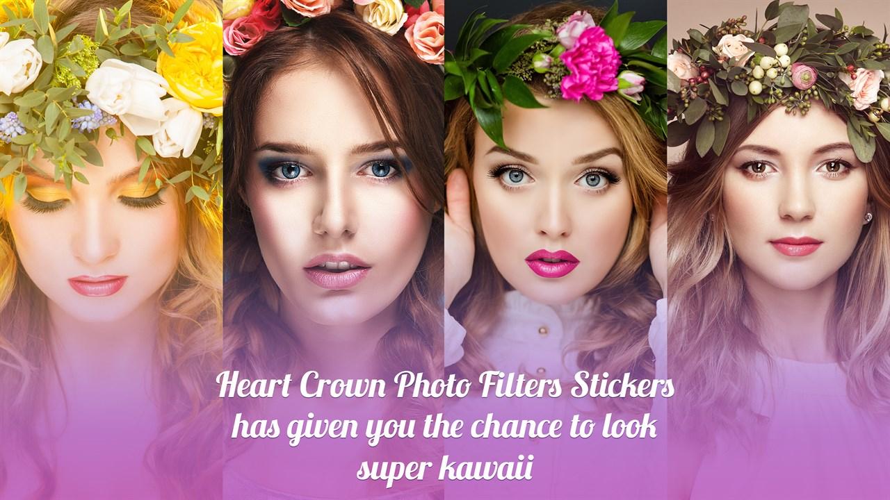 Get Heart Crown Photo Editor - Microsoft Store