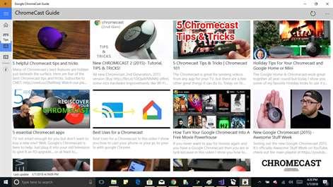 Chromecast UsersGuide Screenshots 1