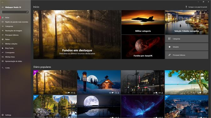Obter Backiee Wallpaper Studio 10 Microsoft Store Pt Ao