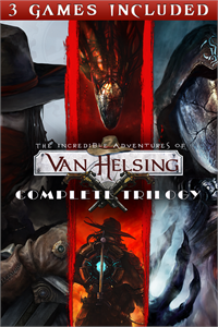 Carátula para el juego The Incredible Adventures of Van Helsing: Complete Trilogy de Xbox 360
