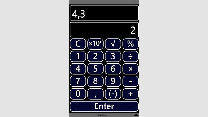 rechner app windows 8