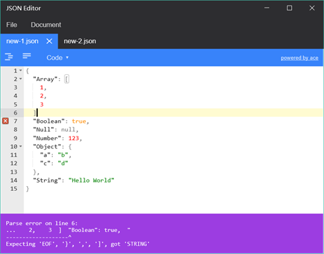 JSON Editor App Latest version Free Download 2019 - AppBgg com
