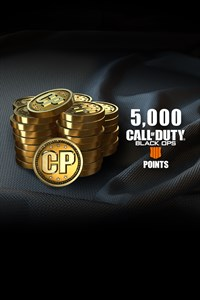 5,000 Call of Duty®: Black Ops 4 Points