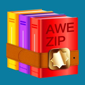 Awe Zip: rar, zip, 7zip, 7z, gzip archiver opener for free