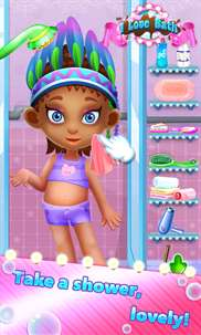 I Love Bath - Clean Up Messy Kids and Dress Up screenshot 1