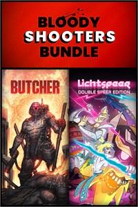 Carátula para el juego Bloody Shooters Bundle de Xbox 360