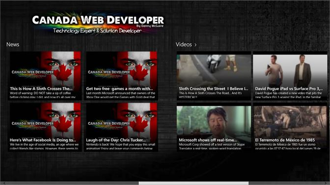 Get Web Design and Development by Canada Web Developer
